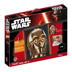 Joc creativ QUERCETTI Pixel Art Star Wars C-3PO Q0848, 9 - 99 ani, 14800 piese