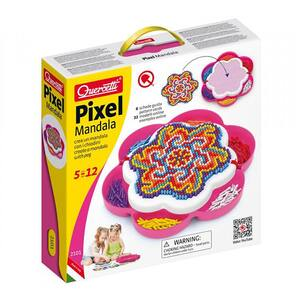 Joc creativ QUERCETTI Pixel Mandala Daisy Q2101, 5 - 12 ani, 1200 piese