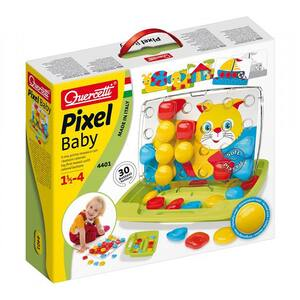 Joc educativ QUERCETTI Pixel Baby Q4401, 18 luni - 4 ani, 30 piese