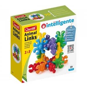 Jucarie interactiva QUERCETTI Primele animale Q4135, 1 - 3 ani, multicolor