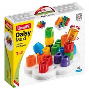 Joc educativ QUERCETTI Geokid Daisy Maxi Q4160, 1- 4 ani, 20 piese
