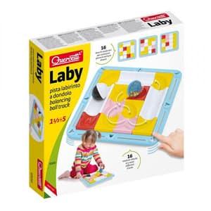 Joc educativ QUERCETTI Labirint cu bile Q6500, 18 luni - 5 ani, 16 piese