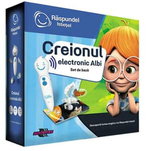 Creion electronic RASPUNDEL ISTETEL Albi 69344, 5 ani+, alb-albastru