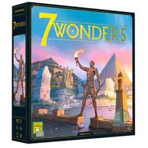 Joc de societate ASMODEE 7 Wonders (Editie 2020) SEV-RO02, 10 ani+, 3-7 jucatori