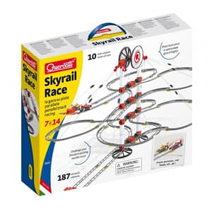 Joc constructie QUERCETTI Skyrail Race Q6663, 7 - 14 ani, 187 piese