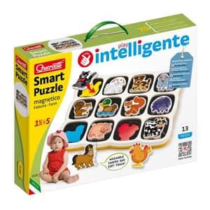 Puzzle QUERCETTI Smart Ferma Q0230, 18 luni - 5 ani, 12 piese