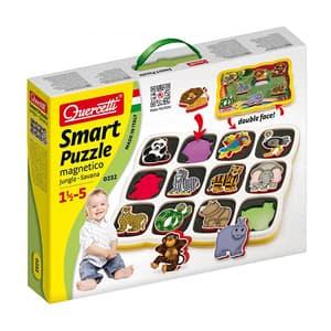 Puzzle QUERCETTI Smart Savana Q0232, 18 luni - 5 ani, 12 piese