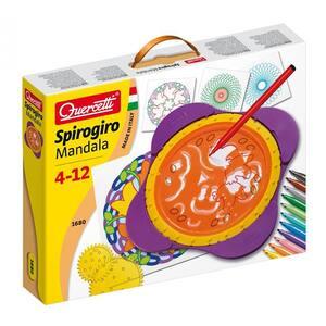 Joc creativ QUERCETTI Mandala Spirogiro Q1680, 4 - 12 ani