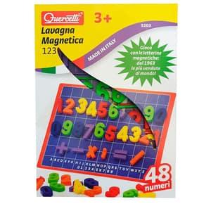Joc educativ QUERCETTI Tabla magnetica cifre Q5203, 3 ani+, 48 piese