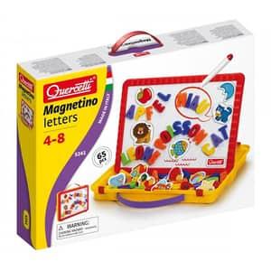 Joc educativ QUERCETTI Tableta magnetica litere mari Q5241, 4 - 8 ani, 60 piese