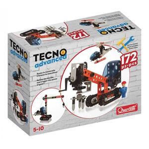 Joc constructie QUERCETTI Tecno Advanced Q0566, 5 - 10 ani, 172 piese