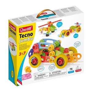Joc constructie QUERCETTI Tehno Jumbo Q6155, 3 - 7 ani, 76 piese