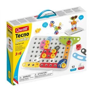Joc constructie QUERCETTI Tehno Jumbo Starter Q6165, 3 - 6 ani, 52 piese