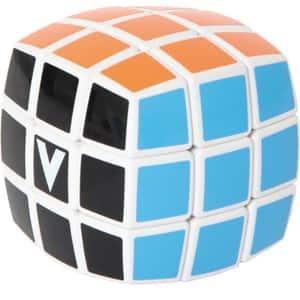 Joc educativ V-CUBE Cub Rubik forma rotunjita CUB0166, 6 ani+, 3x3