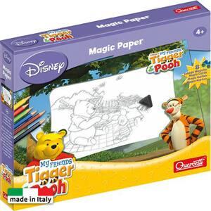 Joc educativ QUERCETTI Hartia magica - Winnie the Pooh Q5501, 4 ani+