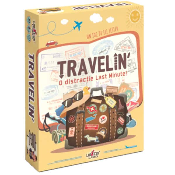 Joc de societate MIND FITNESS GAMES Travelin' TRVL0271, 10 ani+, 2-5 persoana