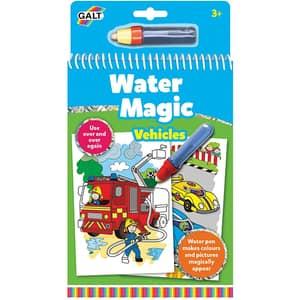 Carte de colorat GALT Water Magic Vehicule 1004933, 3 ani+, 6 imagini