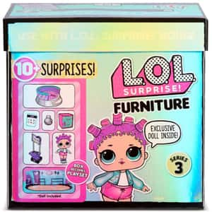Papusa LOL Surprise S3 Furniture Roller Rink 567103, 3 ani+, multicolor