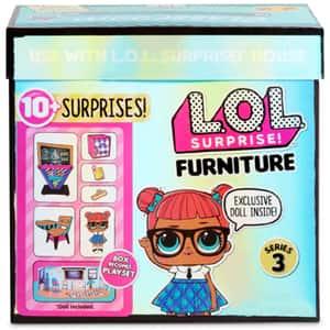 Papusa LOL Surprise S3 Furniture Classroom 570028, 3 ani+, multicolor