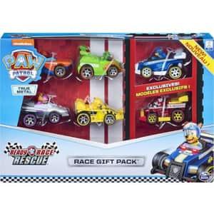 Set 6 masinute PAW PATROL Ready Race Rescue 6054522, 3 ani+, multicolor