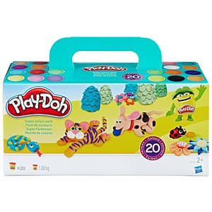 Set PLAY DOH 20 rezerve colorate A79242, 2 ani+, multicolor