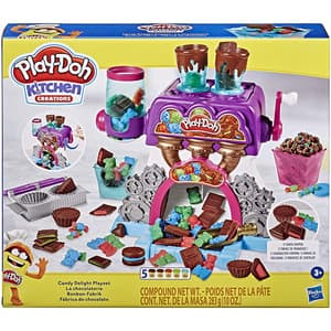 Set PLAY DOH Fabrica de ciocolata E9844, 3 ani+, multicolor