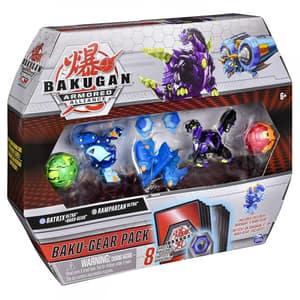 Set figurine BAKUGAN Set de lupta Ultra Batrix si Ramparian cu Baku-Gear 6056037_20124159, 6 ani+, multicolor