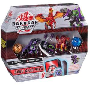 Set figurine BAKUGAN Set de lupta Ultra Pegatrix si Trox cu Baku-Gear 6056037_20124161, 6 ani+, multicolor