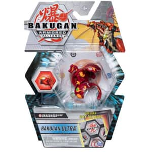 Figurina BAKUGAN S2 Armored Alliance - Ultra Dragonoid 6055885_20122468, 6 ani+, rosu-portocaliu
