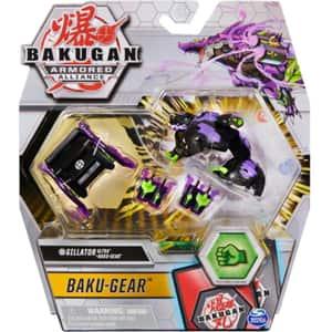 Figurina BAKUGAN Armored Alliance - Ultra Gillator cu echipament Baku-Gear 6055887_20124763, 6 ani+, multicolor