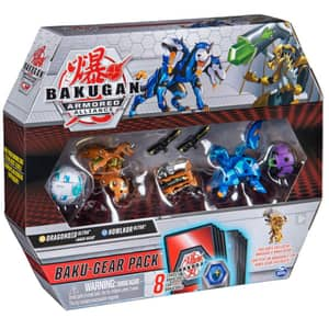 Set figurine BAKUGAN S2 Armored Alliance - Ultra Howlkor si Dragonoid 6056037_20122678, 6 ani+, multicolor