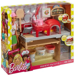 Papusa BARBIE Pizzerie MTFHR09, 3 ani+, multicolor