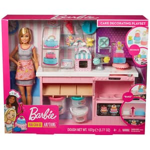 Papusa BARBIE In cofetarie MTGFP59, 4 ani+, multicolor