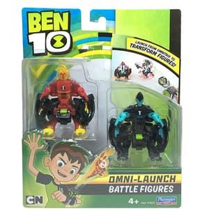 Set 2 figurine BEN 10 Torta vie si XLR8 76635, 4 ani+, multicolor