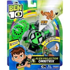 Ceas BEN 10 Omnitrix Alien Projection 76954, 4 ani+, verde-gri