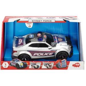 Masina de politie DICKIE Street Force 203308376, 3 ani+, argintiu-negru