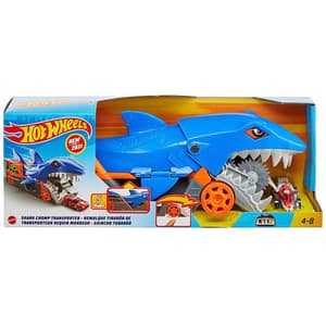 Masinuta HOT WHEELS Transporter City Shark Chomp MTGVG36, 4 ani+, multicolor