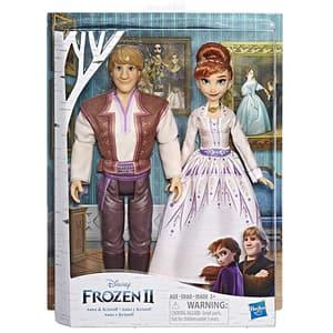 Set papusi FROZEN Disney II Romance Anna si Kristoff E5502, 3 ani+, multicolor