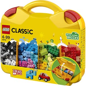 LEGO Classic: Valiza creativa 10713, 4 ani+, 213 piese