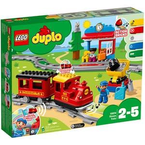 LEGO Duplo: Tren cu aburi 10874, 2 - 5 ani, 59 piese