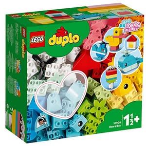 LEGO Duplo: Cutie in forma de inima clasica 10909, 1.5 ani+, 80 piese