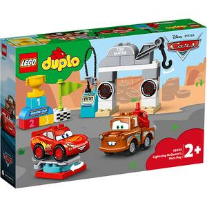LEGO Duplo: Ziua cursei lui Fulger McQueen 10924, 2 ani+, 42 piese