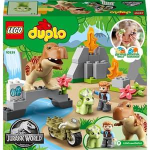 LEGO DUPLO: Evadarea dinozurilor Trex si Tricerato 10939, 2 ani+, 36 piese