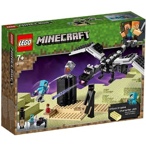LEGO Minecraft: Batalia finala 21151, 7 ani+, 222 piese