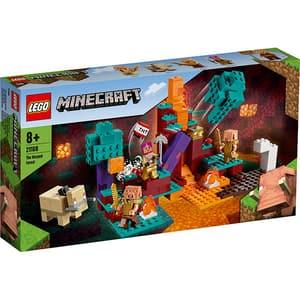 LEGO Minecraft: Padurea deformata 21168, 8 ani+, 287 piese
