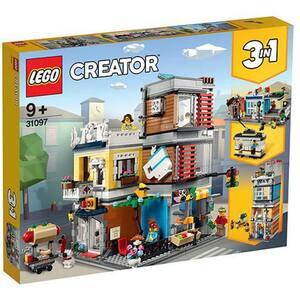 LEGO Creator: Magazin de animale si cafenea 31097, 9 ani+, 969 piese