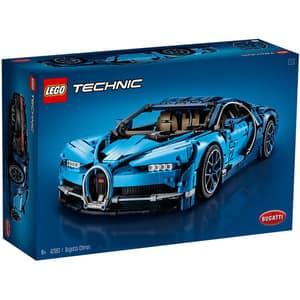 LEGO Technic: Bugatti Chiron 42083, 16 ani+, 3599 piese