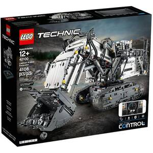 LEGO Technic: Excavator Liebherr R9800 42100, 12 ani+, 4108 piese