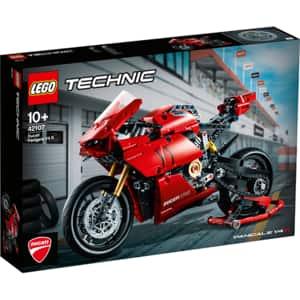 LEGO Technic: Ducati Panigale V4 R 42107, 10 ani+, 646 piese