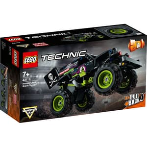 LEGO Technic: Monster Jam Grave Digger 42118, 7 ani+, 212 piese